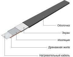 Секция нагревательная кабельная 50НТ06-3-1380-040