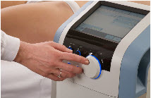 The device BTL-6000 Combi for physical therapy