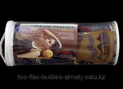 Греческая подушка Валик V2 15х40 флис в футляре