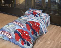 Комлект постельного белья MARVEL - Человек паук 1,5 сп, арт. 44566532