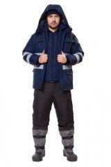 Куртка с жилетом Енисей т.синий