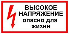 Знаки и плакаты, Знаки электробезопасности