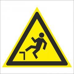 Знак Осторожно. Возможно падение с высоты