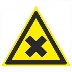 Знак Осторожно. Вредные для здоровья аллергические (раздражающие) вещества