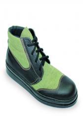 Ботинки кожаные  Асфальтоукладчик