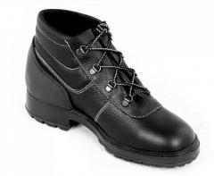 Ботинки кожаные Крафт
