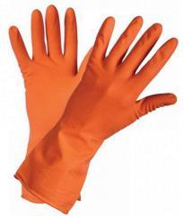 Перчатки Латекс безворсовые