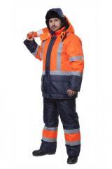 Suit Route orange/blue