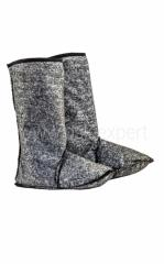 The stockings warming fur fabric