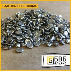 El aluminio secundario АВ-87 en los gránulos el