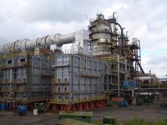 Установки по переработке нефти