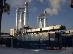 Установки по переработке газа