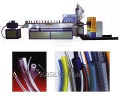 Экструзионная линия для переработки пластмасс