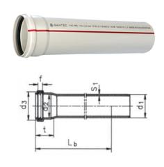 Труба ПВХ 50/1000 mm (3,2)