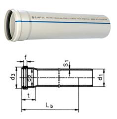 Труба ПВХ 75/2000 mm (2,2)