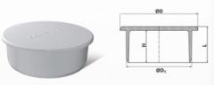 Заглушка ПВХ кан 150 mm