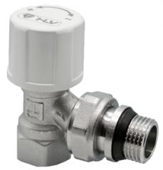 Клапан термостатический угл. 1/2 HLV