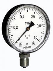 Манометр общетехнический МП100М5-1,0МПа-1,5