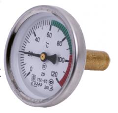 Термометр биметаллический ТБП 63/50/ТЗ-(0-120)С-2,5