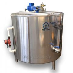 Bathtub of long pasteurization of VDP from 50 l