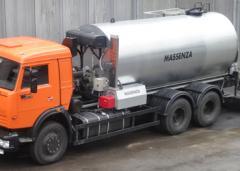 Автогудронатор 10000 л на базе шасси КАМАЗ 65115