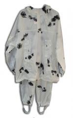 Маскхалат Омон цвет белый ткань Мембрана