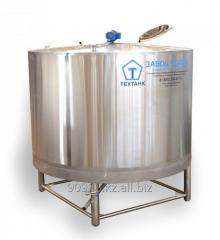 Емкость для низкотемпературной обработки молочных