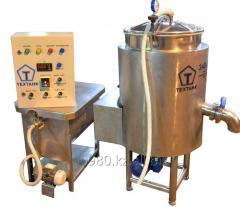 Vacuum evaporating installation