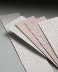 Emery paper on glue for planes.