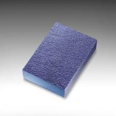 Abrasive sponge of 68х97х27 mm of Medium (blue