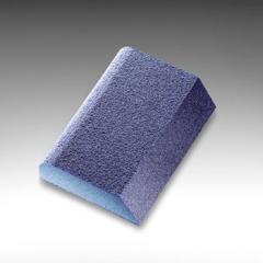 Abrasive sponge of 68х97х27 mm of Fine combi (blue