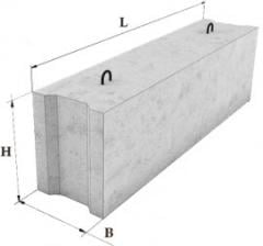 Фундаментные блоки сплошные-24-5-6Т