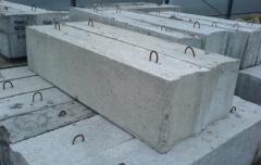 Фундаментные блоки сплошные-12-5-6Т