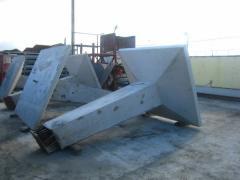 Фундамент под металлические опоры Ф6-2Р