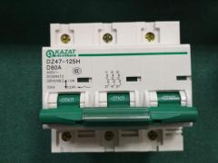 Automatic switches 80A 400V KAZAT seriya:dz47-125H