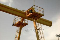 Kozlova the crane management from a floor