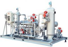 Горизонтальные индустриальные компрессора тип