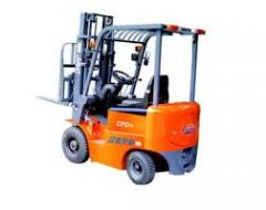 German 5th ton electric fork loader of Pime expo