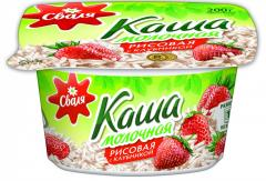 Svalya rice porridge with strawberry 200 of