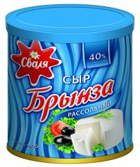 Svalya Brynza of 40% 400 g in a can
