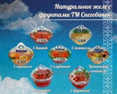 Желе фруктовое с клюквой ТЗ Снеговичок 150...