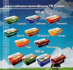 Плавленый сыр 180 гр. Швейцарский