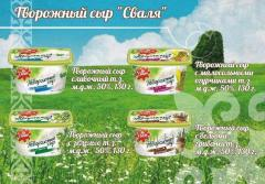 Cream cream cheese t.z. Svalya m.d.zh. 50%, 130 g.