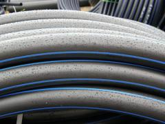 Pipes polymeric with a diameter from Ø 75 mm to