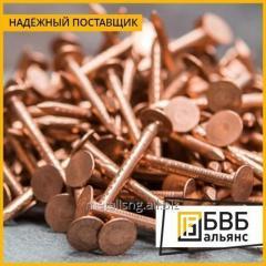 Медные гвозди 2х30 М2 ГОСТ 6750-75
