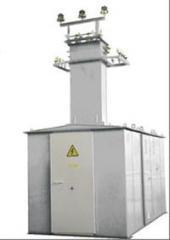 Transformer substation 100/10/0,4