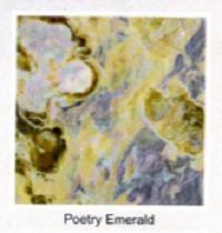 Мрамор Poetry emerald