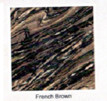 Мрамор French brown