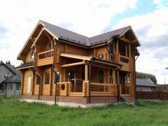Строительство домов из сруба (строительство домов