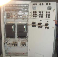 Electropanel board equipment of AVR, BM, ShUN,